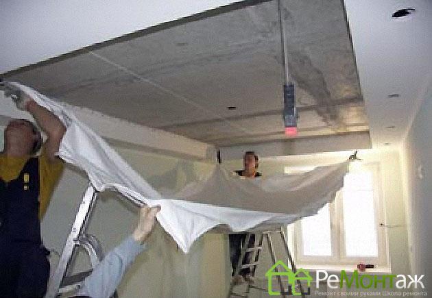 инструкция монтаж натяжного потолка - фото 3