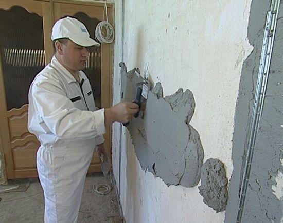 Как выровнять стену в квартире своими руками