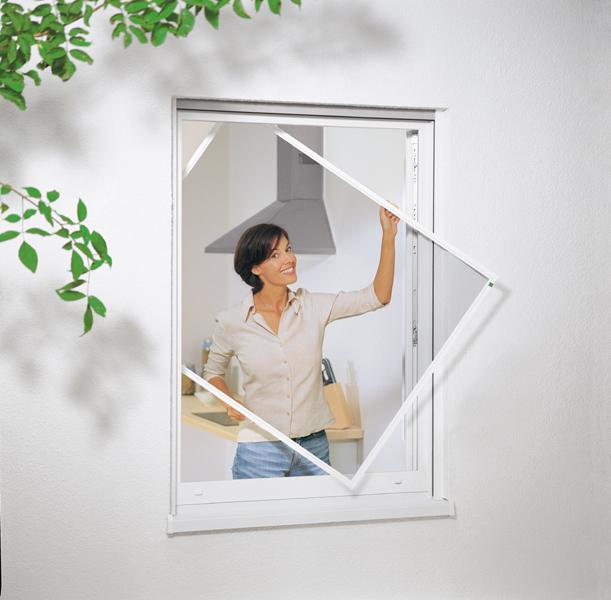 Монтаж москитной сетки на двери своими руками