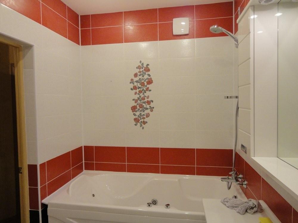 Положить плитку в ванной своими руками на пол 143