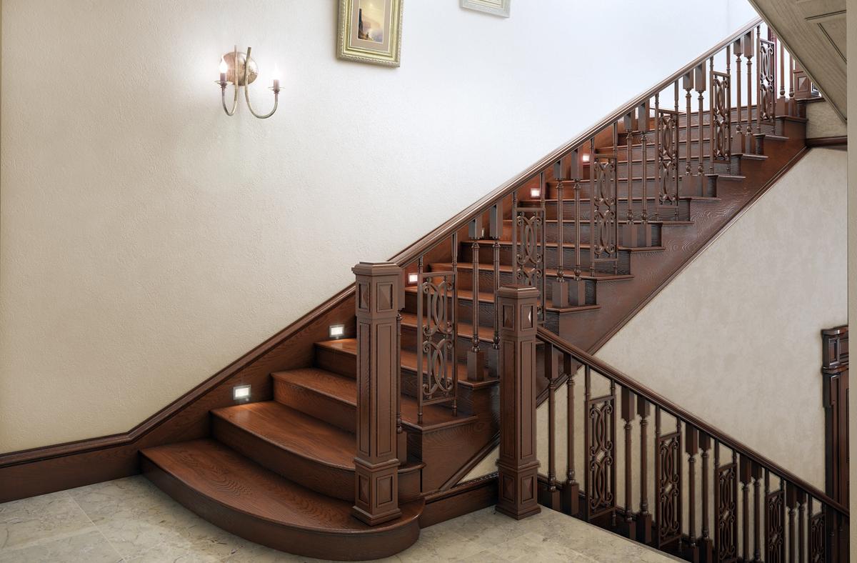 Маршевая лестница фото2