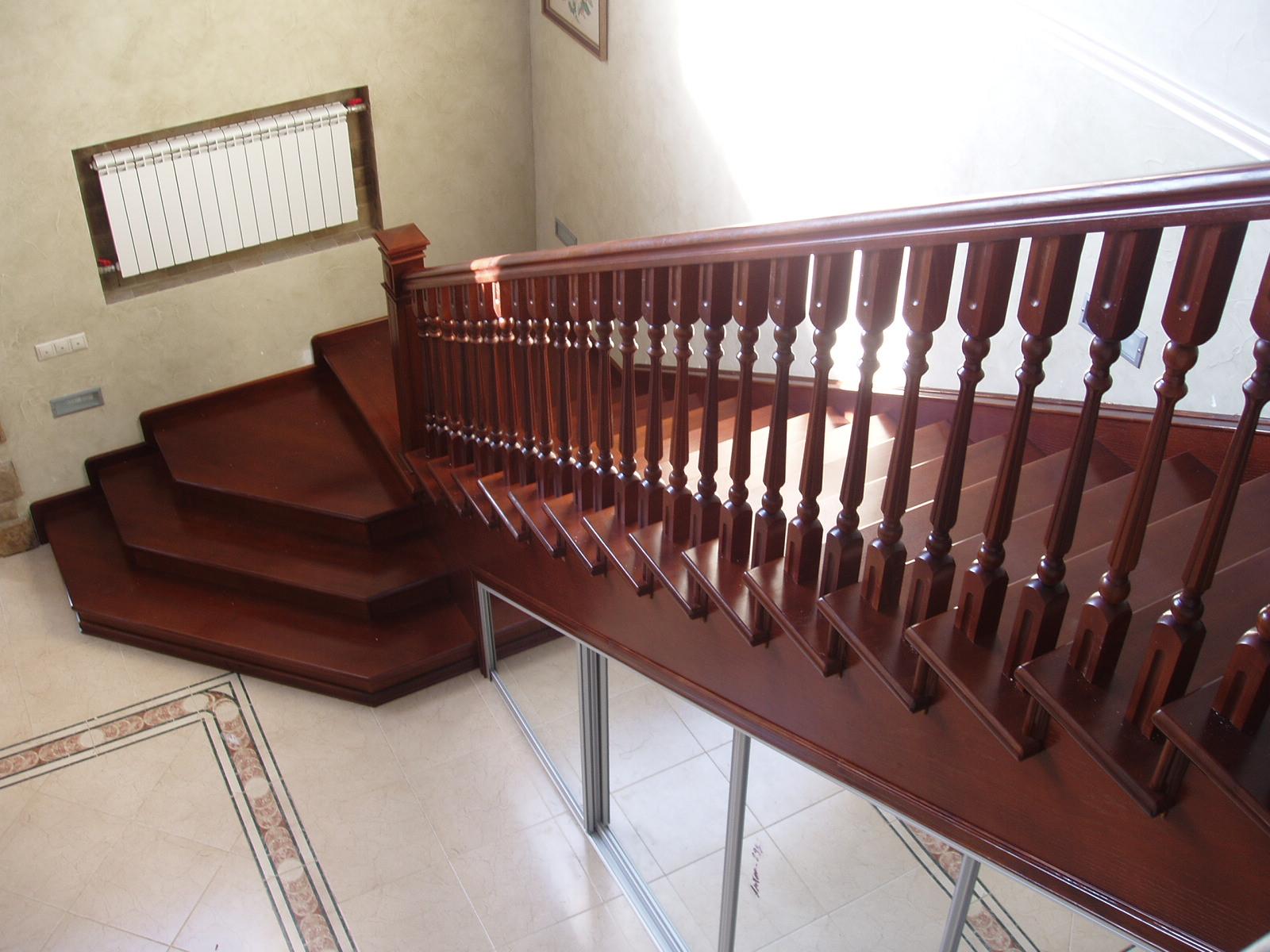 Маршевая лестница дизайн