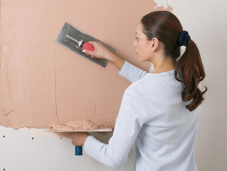 Подготовка бетонной стены под покраску