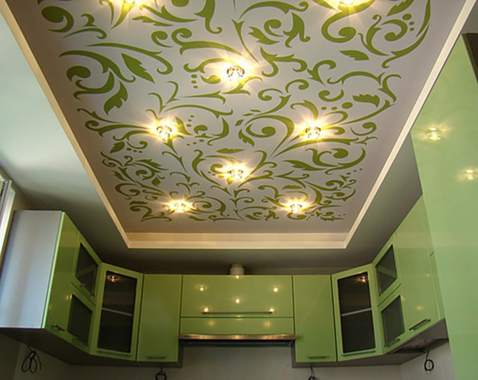 Натяжной потолок дизайн