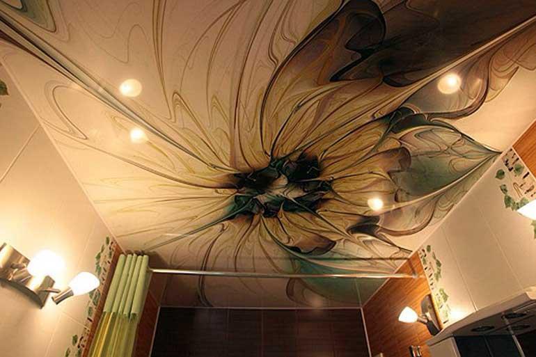 Натяжной потолок фото2