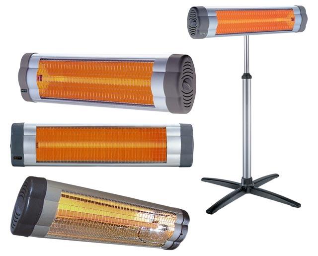 Инфракрасный спиральный обогреватель фото