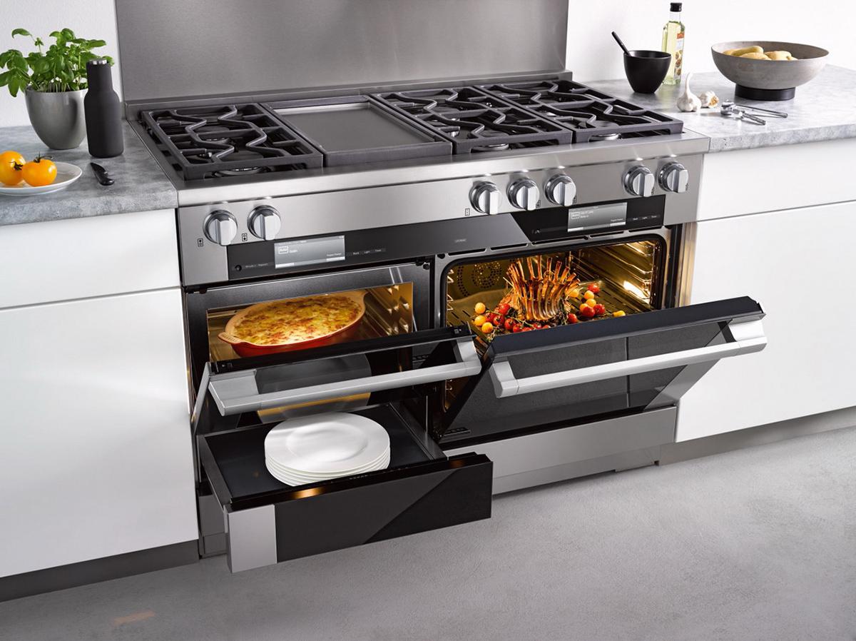 Духовой шкаф и плита для кухни