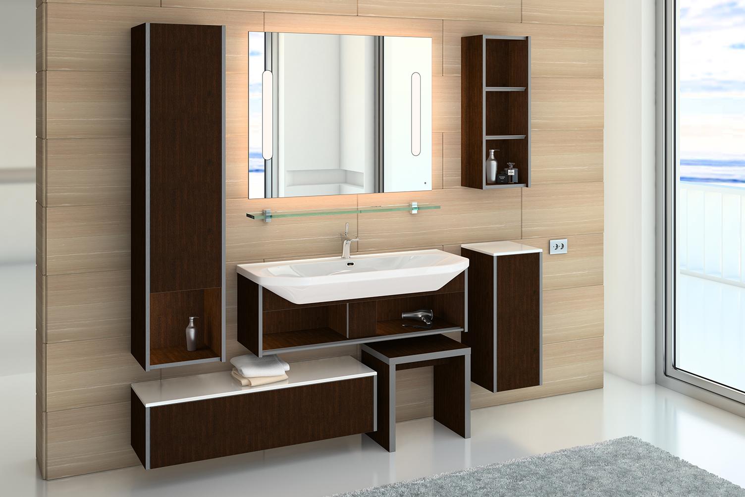 Выбор мебели для ванной комнаты фото2
