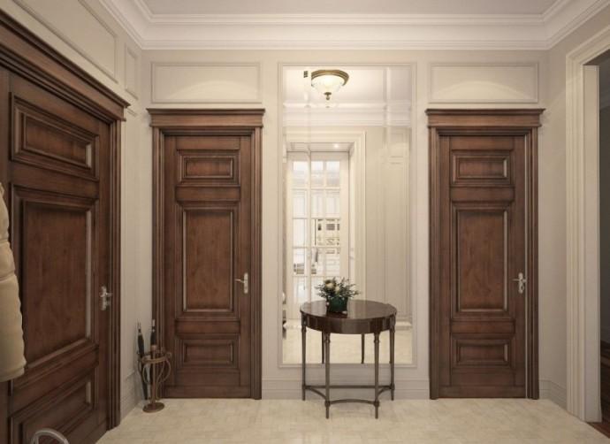 Двери из массива древесины