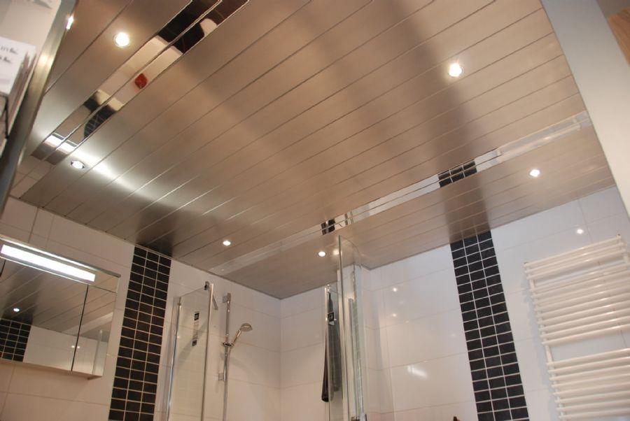 Подвесные металлические потолки фото2