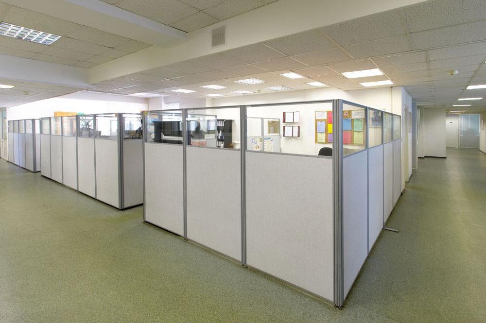 Выбор офисных перегородок фото2