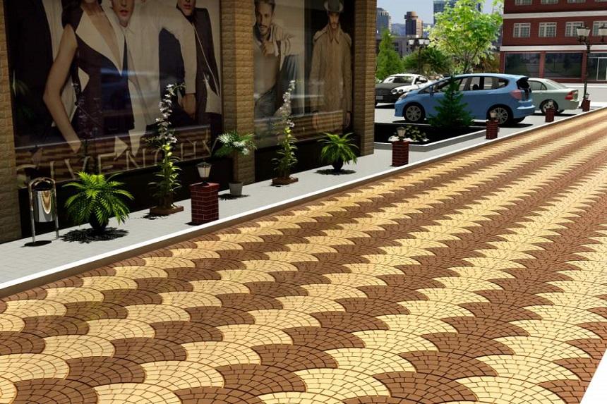 Плитка тротуарная фото2