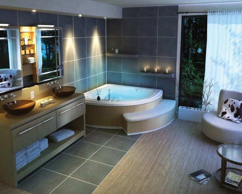 Дизайн ванной комнаты фото2