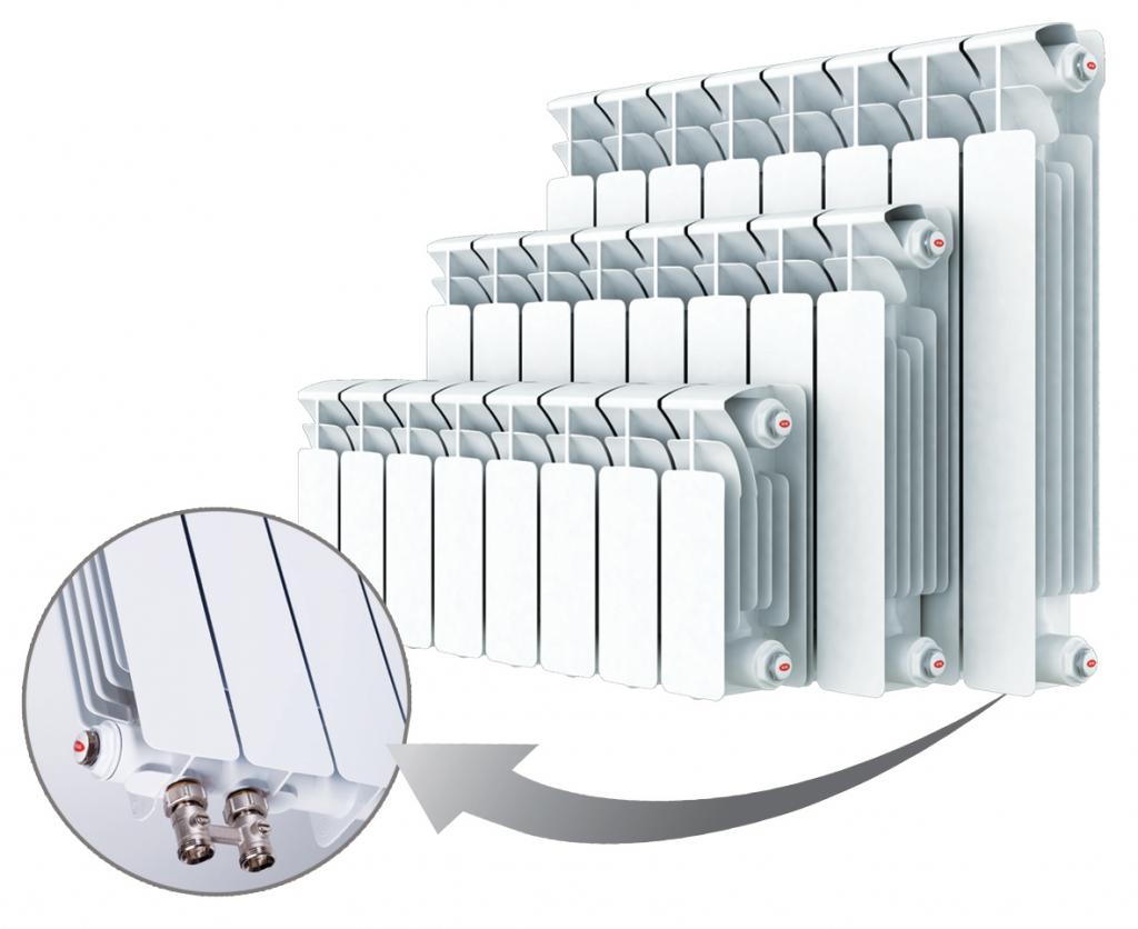 Биметаллические радиаторы отопления фото