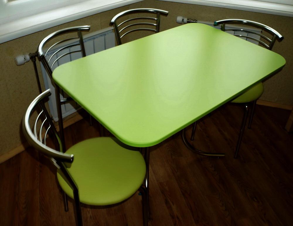 Кухонные металлические столы на заказ фото