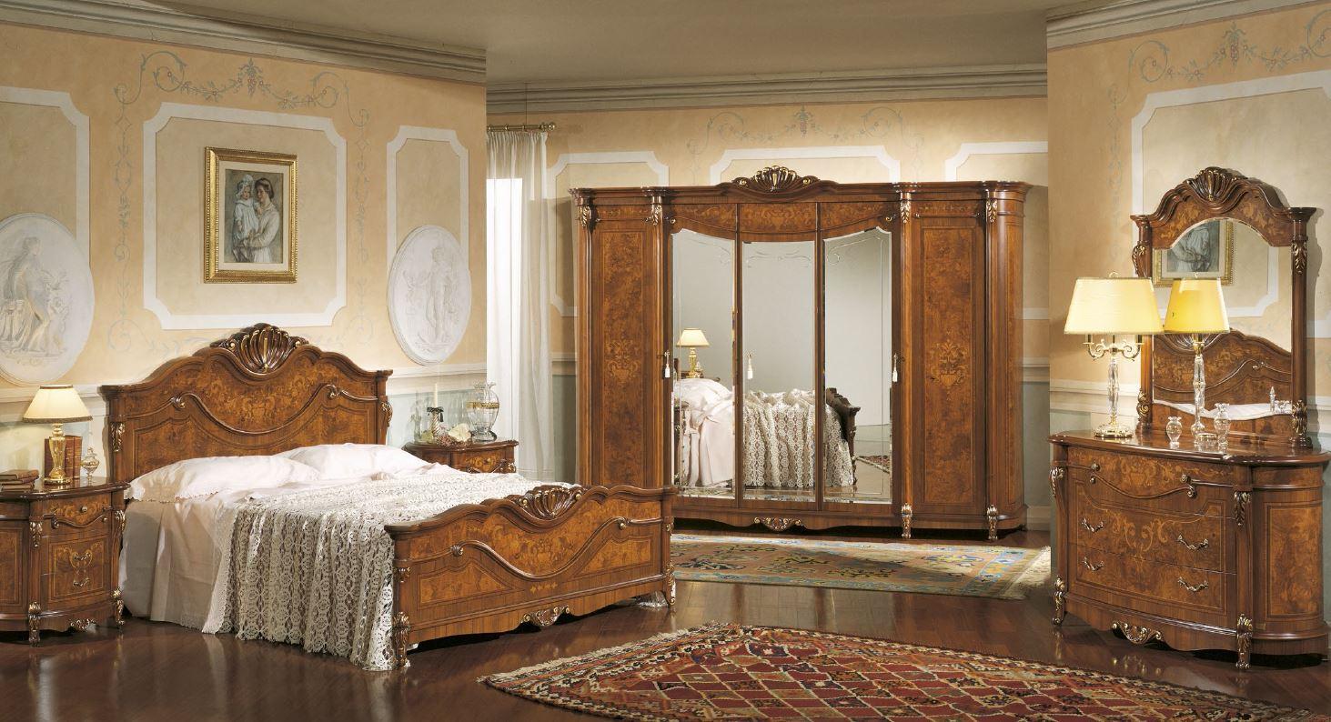 Классические итальянские спальни фото