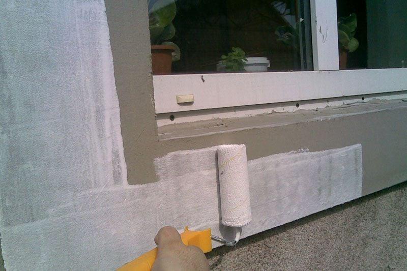 Подготовка фасада к окраске фото2