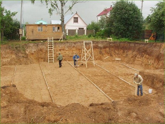 Подготовка площадки под фундамент фото3