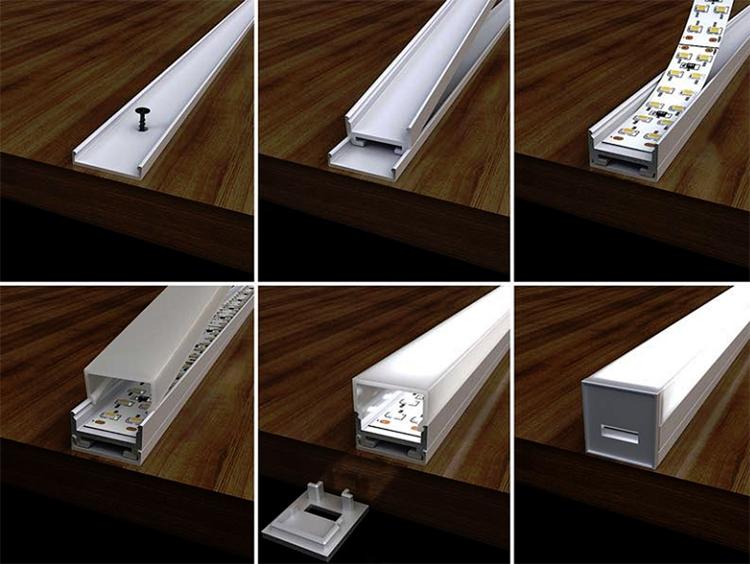 Профиль для светодиодной ленты фото2