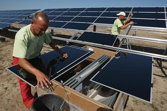 Строительство солнечных электростанций фото2